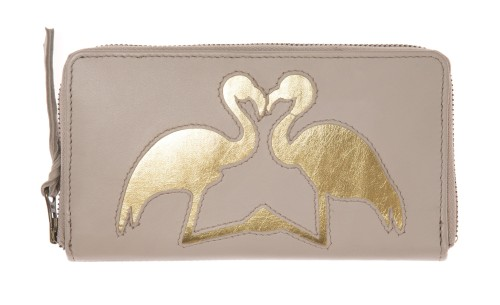 and mary pochette flamants rose