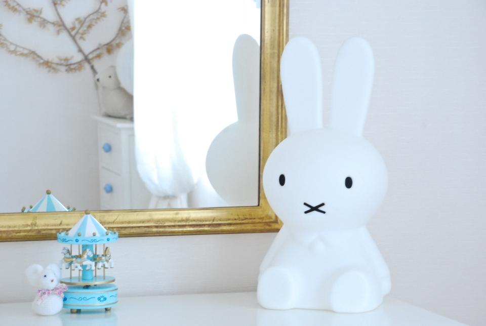 Deco chambre de bebe lapin miffy