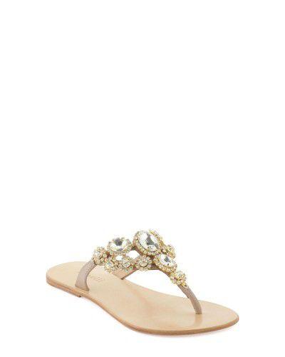 Sandales beige Minelli F63 406