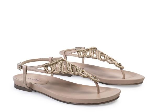 Sandales beige André FAIZA