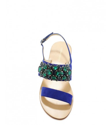 Sandales bleues Cosmo Paris KLARA VEL