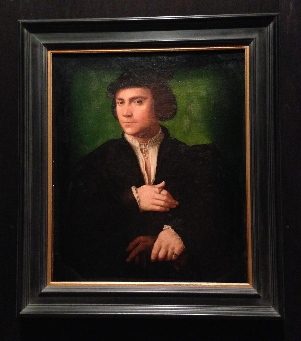 L'Homme au gant de Joos Van Cleve