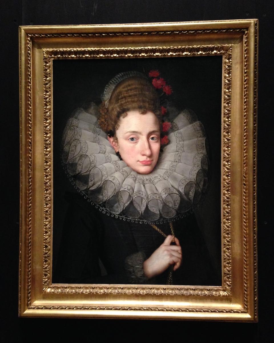 Portrait de femme de François II Pourbus, vers 1605